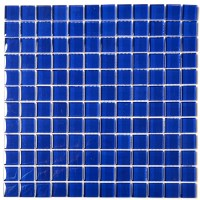 Dark Blue Mosaic Tiles